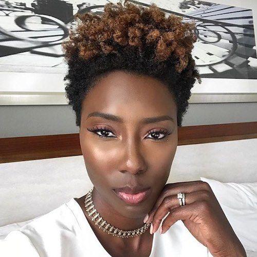 51 Best Hair Color For Dark Skin That Black Women Want 2019 Be Trendsetter Hair Color For Dark Skin Twa Hair Color Hair Color Dark