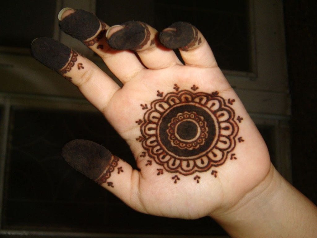 Unique And Easy Mehndi Designs : Simple easy mehndi design beauty pinterest