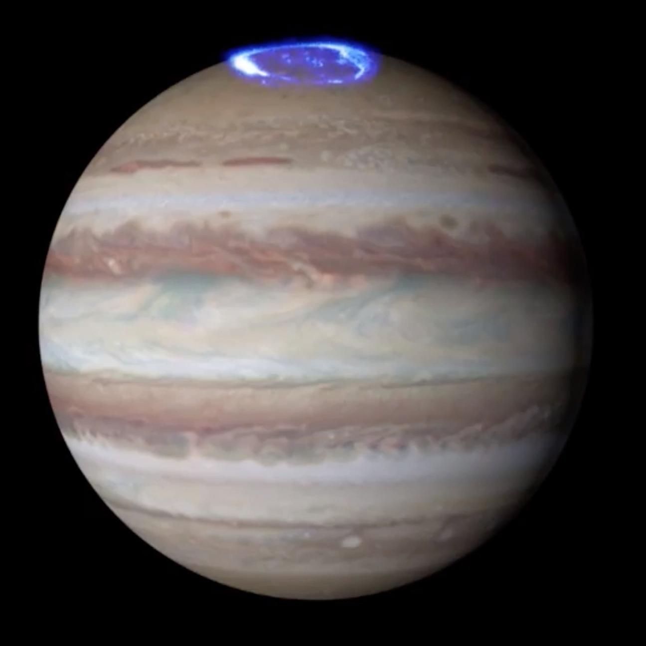 Photo of 木星オーロラ撮影による、ハッブル望遠鏡