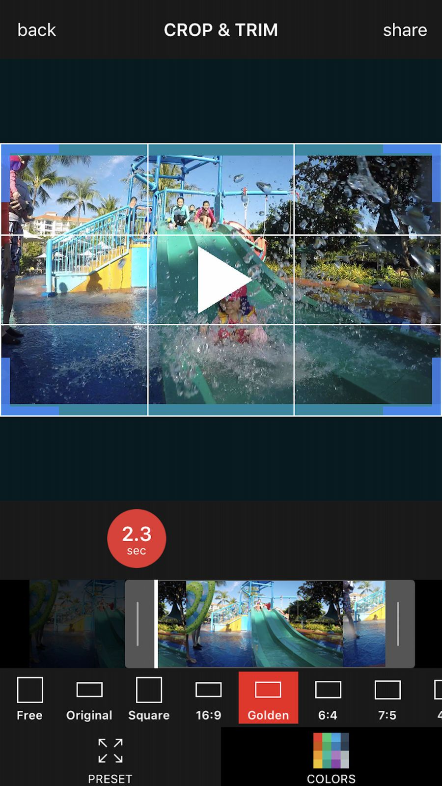Video Crop Editor - Cut | Game Ios Mobile Ui | Download video