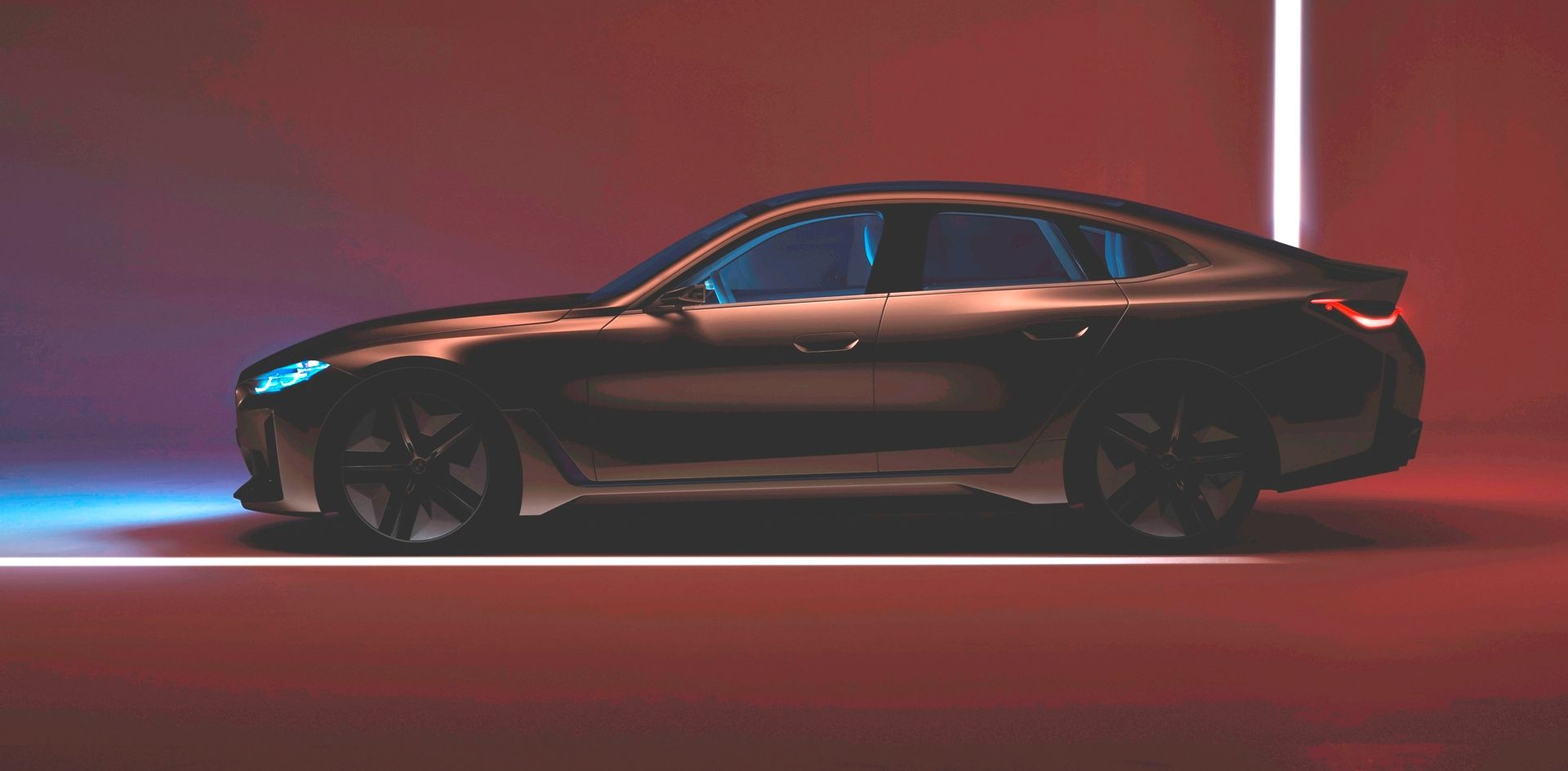 Bmw Concept I4 A New Teaser Before March 3rd Online Reveal Bmw