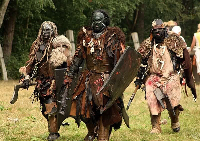 How to get an orcish costume easy | LARPers of Green and