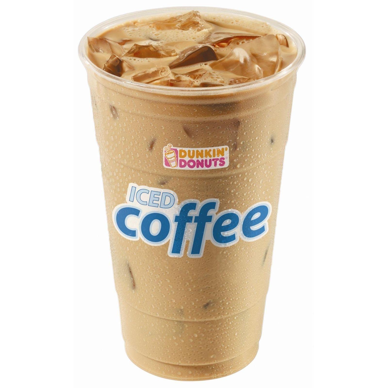 Free Dunkin Donuts White Chocolate Latte
