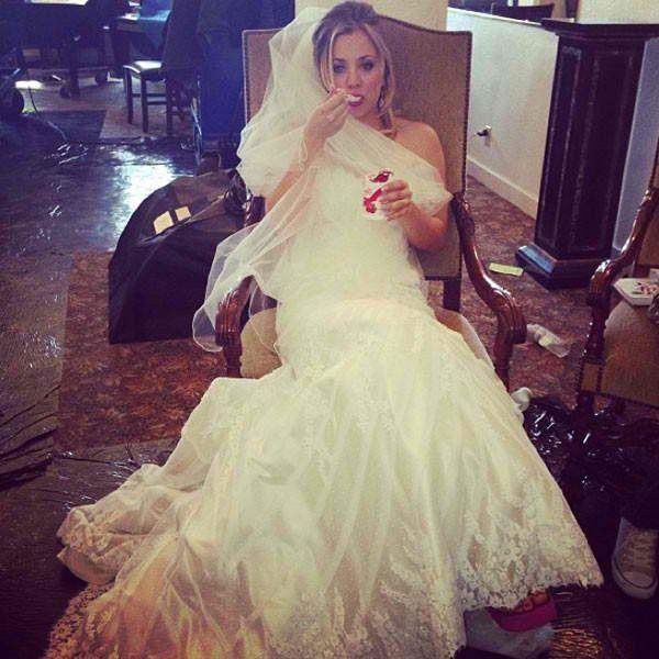 Kaley Cuoco Wedding #kaleycuoco #wedding #gown #celebrity