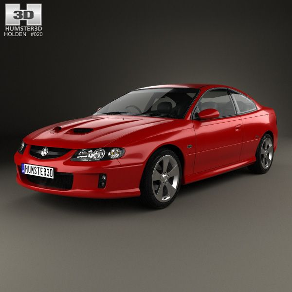 Holden Monaro (VZ) CV8-Z 2005 3d model from humster3d.com. Price: $75