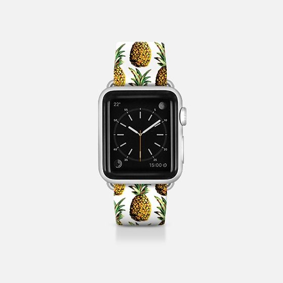 Tropical Pineapple Pattern Apple watch, Apple watch