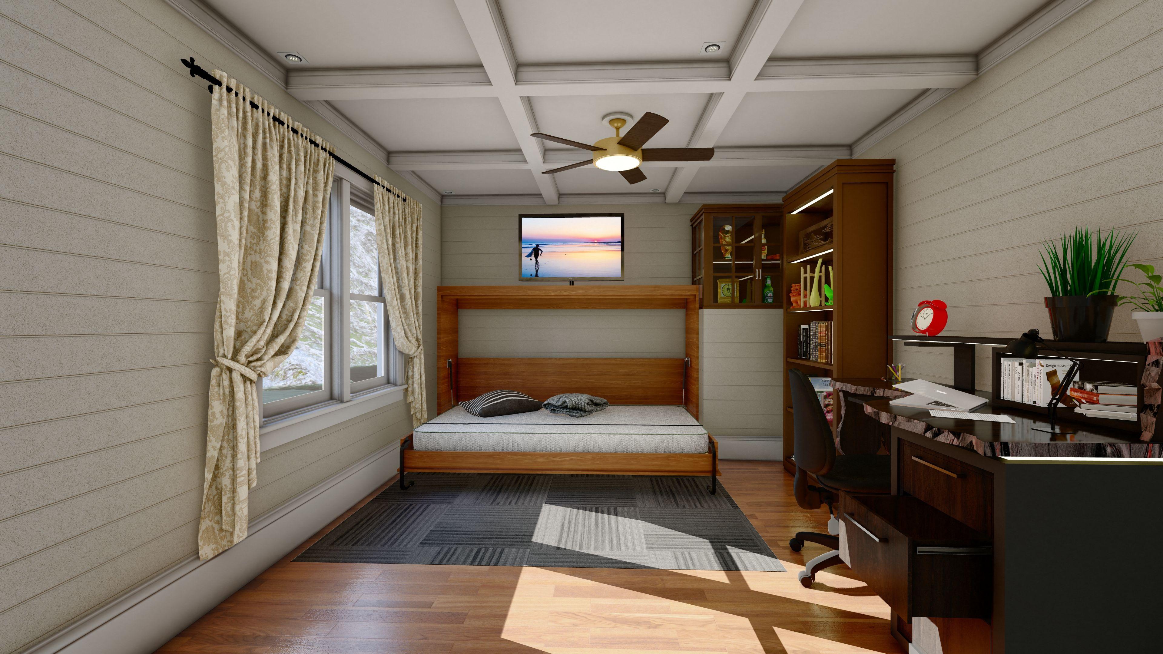 Vertical Murphy Bed Kit Murphy bed, Horizontal murphy