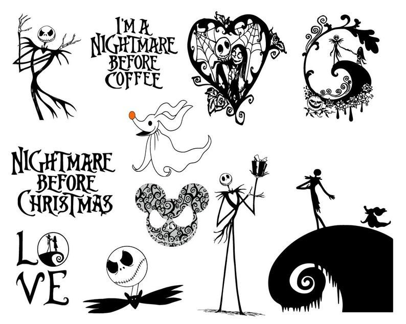 37 Nightmare Before Christmas Svg Vector Clipart Nightmare E Nightmare Before Christmas Tattoo Nightmare Before Christmas Nightmare Before Christmas Drawings