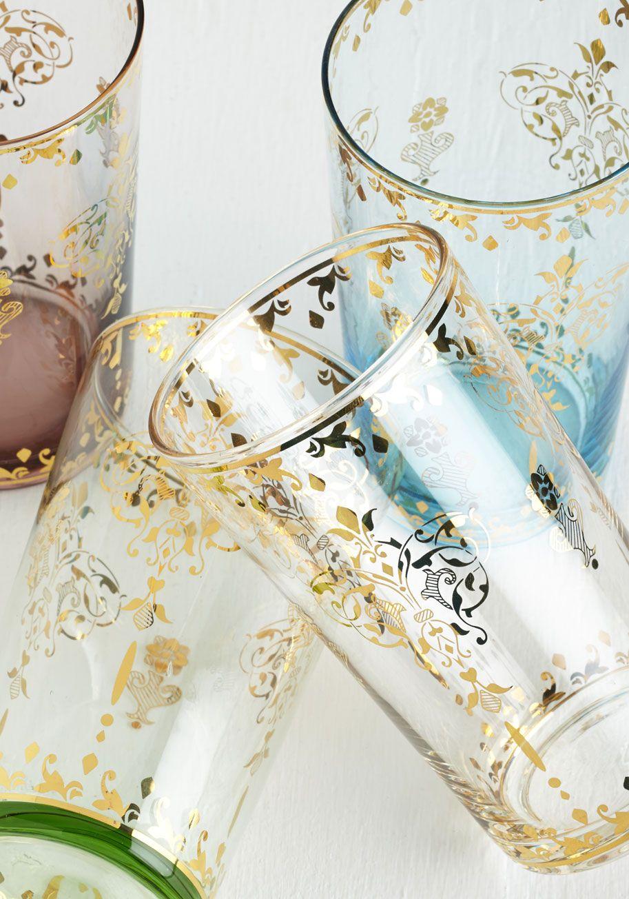 Thanks for Glistening Glass Set | Kitchenware | Pinterest