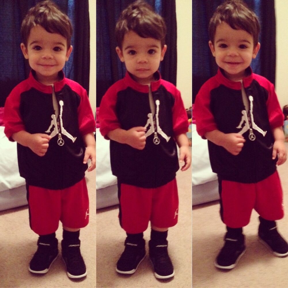 His all Jordan outfit | Baby Boy Swag | Pinterest | Jordan outfits Kid swag and Babies