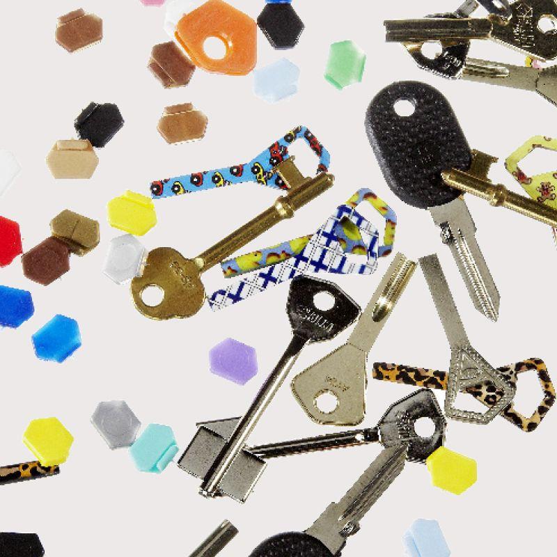 Teetä vara-avain, väritunnukset ja avainperät kaupanpäälle, edun arvo 5 - 10 €. Kampin suutari-avainpalvelu, E-taso.