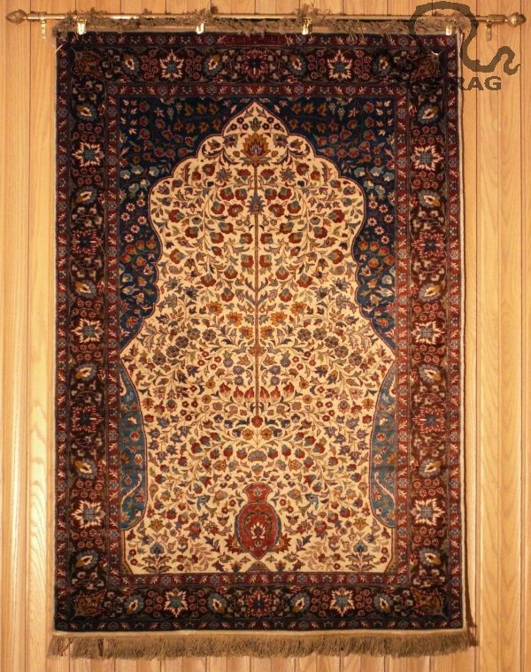 Seagrass Rug Detail Review Zoroufy Persian and Oriental Rug Wall Hanging Legacy Display Kit