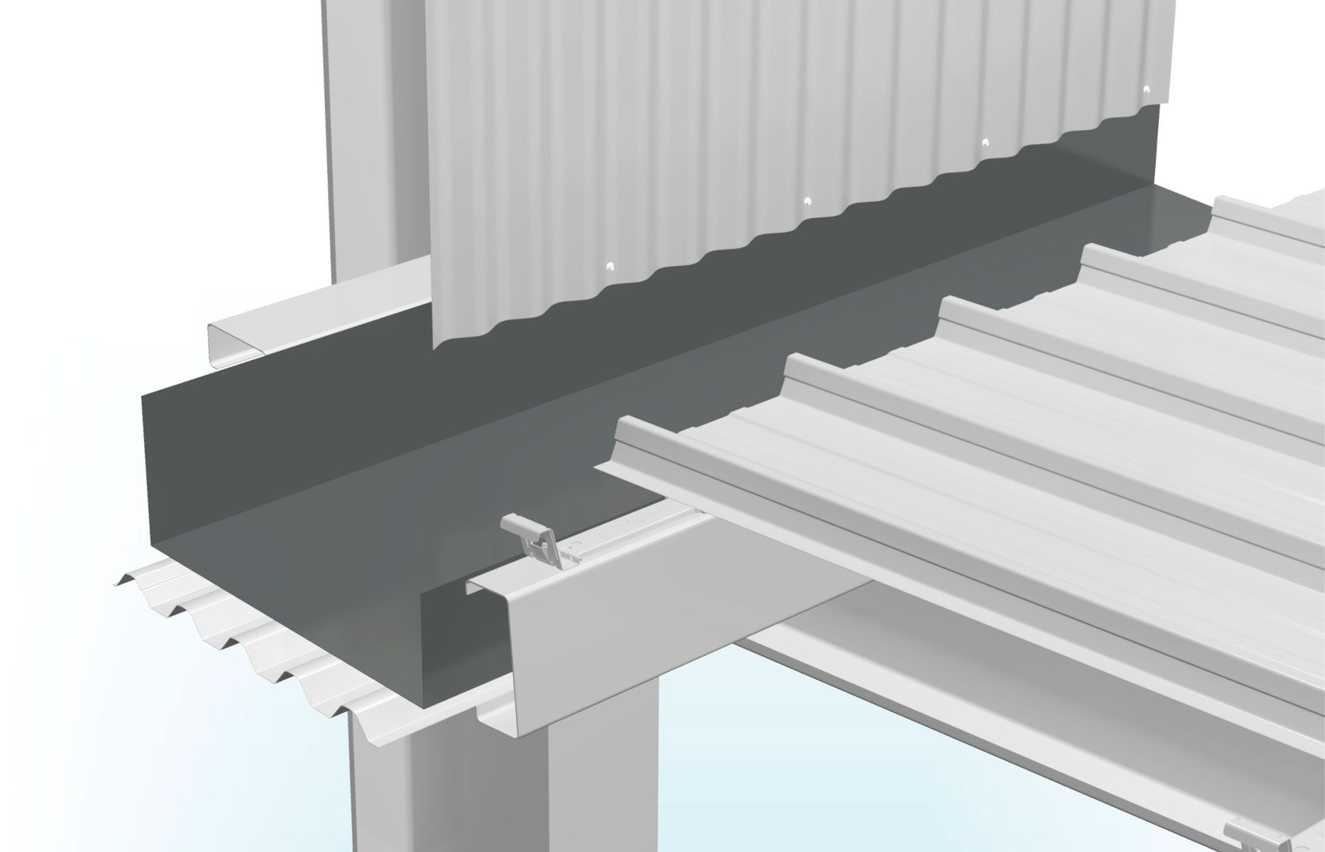 Flashings Stratco Box Gutter Flat Roof Repair Roofing