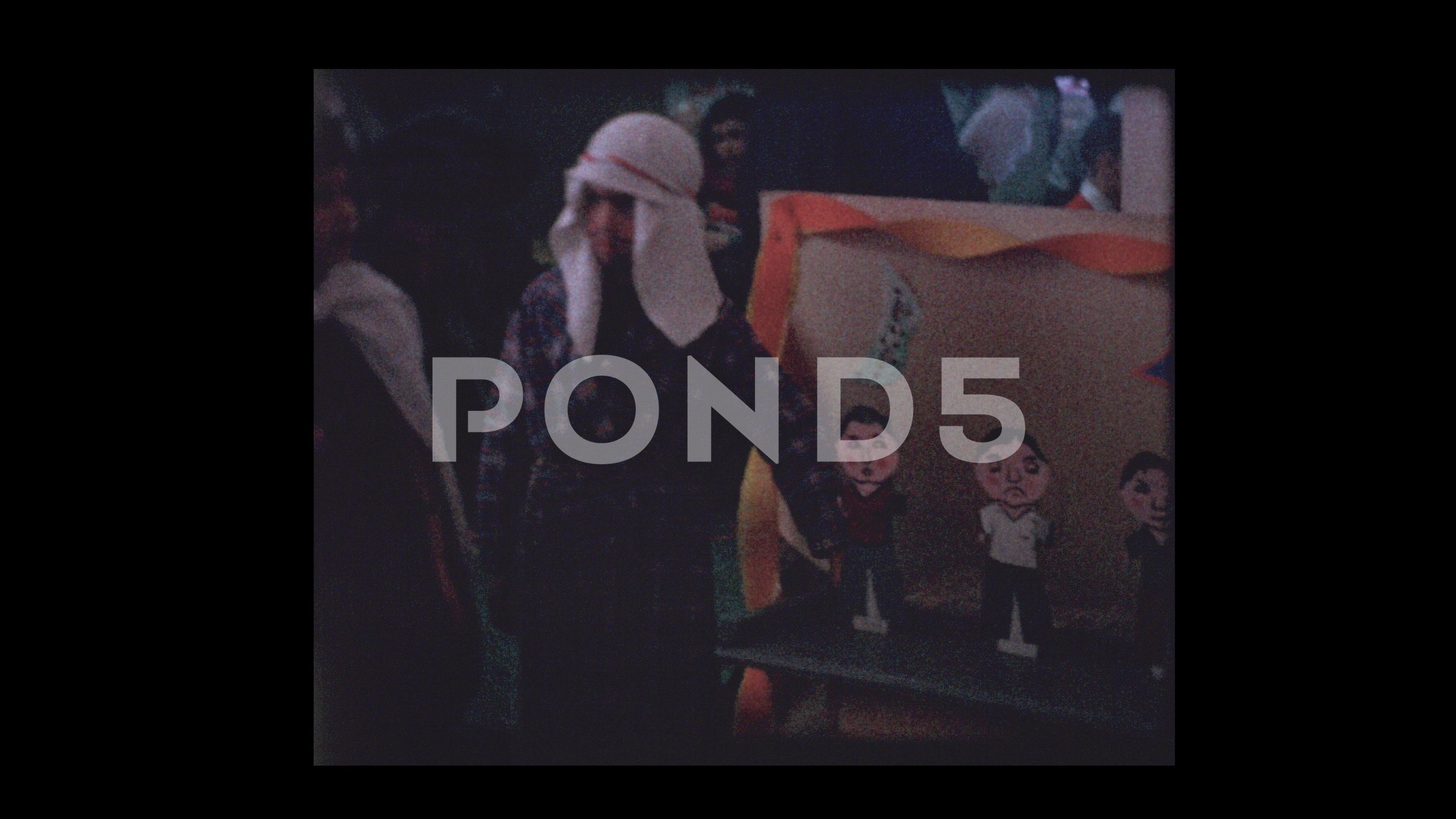 People and games at Purim Carnival Stock Footage PurimgamesPeopleFootage