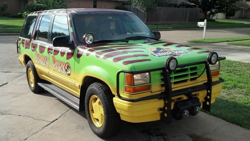 Your Jurassic Park Dreams Can Become Reality With This Epic Ford