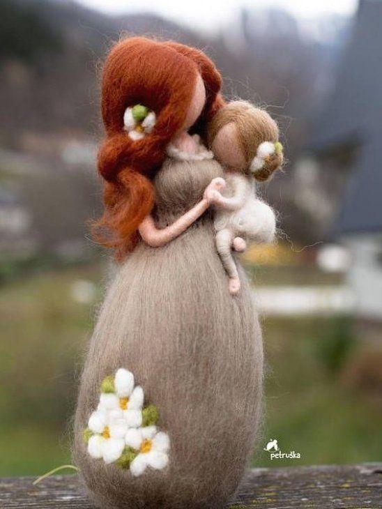 Mutter mit ihrer Tochter Der sch nste Moment in Mothernity