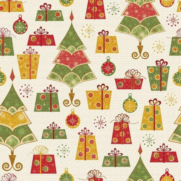 Рождественская бумага для открыток, картинка переломом ноги