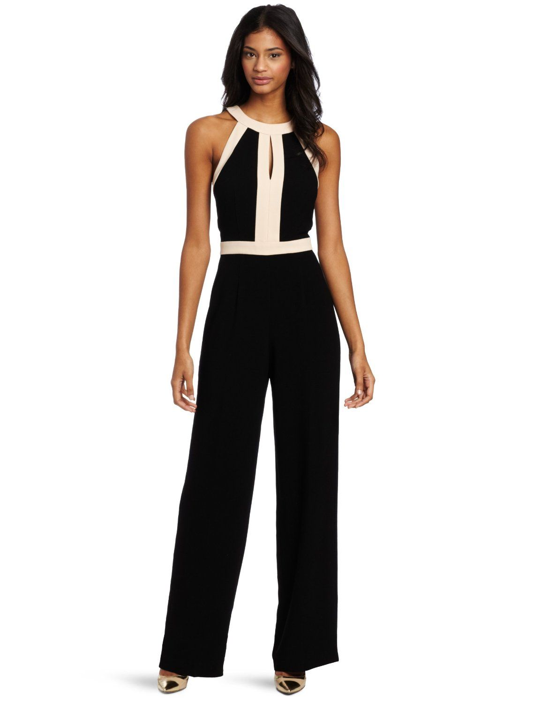 044322be936 Amazon.com  Trina Turk Women s Bond Girl Jumpsuit  Clothing