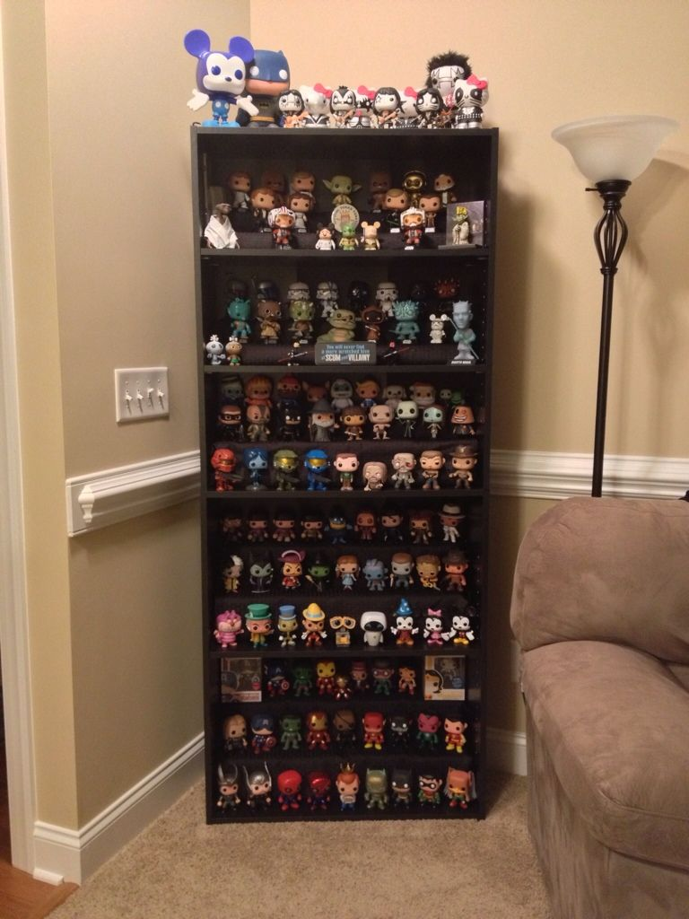 Cool Shelf And Organization K Funko Pop Display