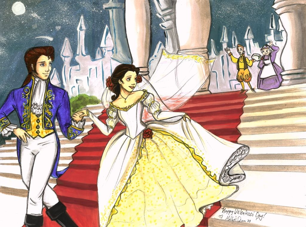 Belle And Prince Adams Wedding