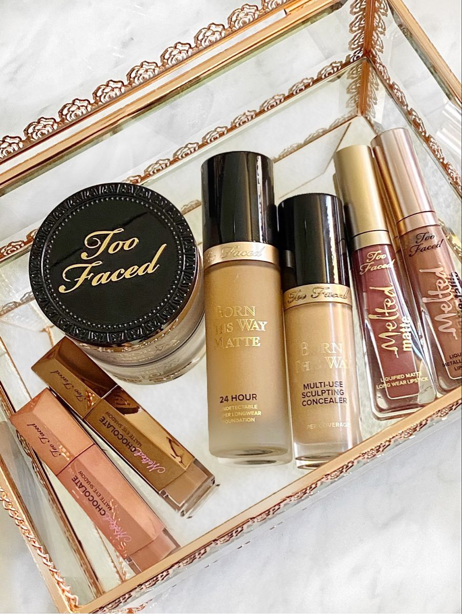 Too Faced Born This Way Matte Foundation in 2020 Matte