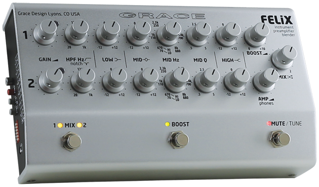 An investment-grade preamp that offers powerful EQ controls, dual channels, and a flexible interface.