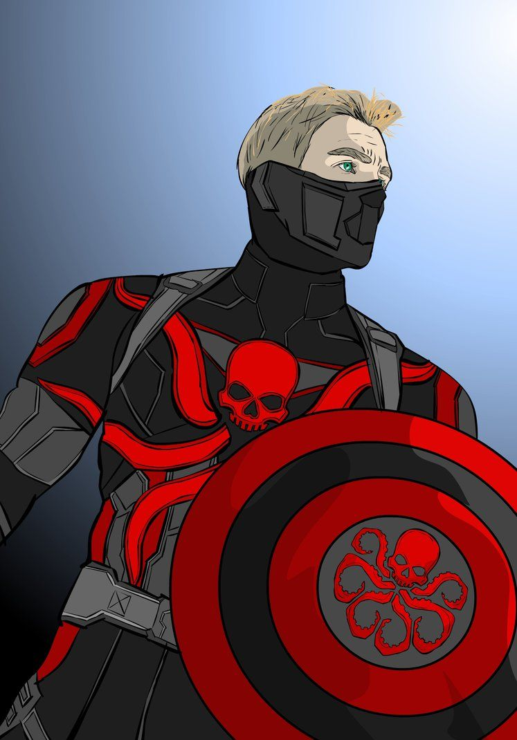 Captain America Agent Of Hydra By Charmian816 Hydra