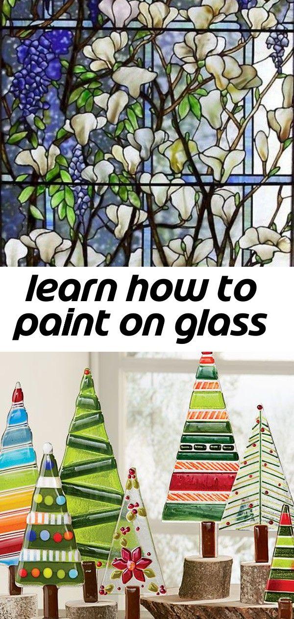 Photo of Lerne auf Glas zu malen
