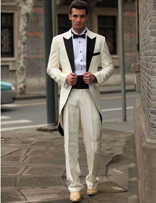 Free EMS / custom Italy western wedding groom dress style long ...