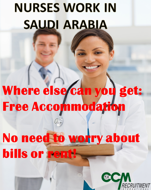 One Reason To Work As A Nurse In Saudi Arabia Nursingjob