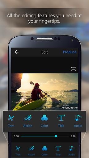 ActionDirector Video Editor v2.7.0 [Unlocked] Vías