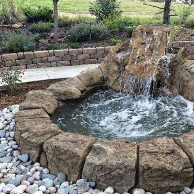 Gib deinem Garten das gewisse Extra! 12 verrückte Ideen für - wasserfall selber bauen