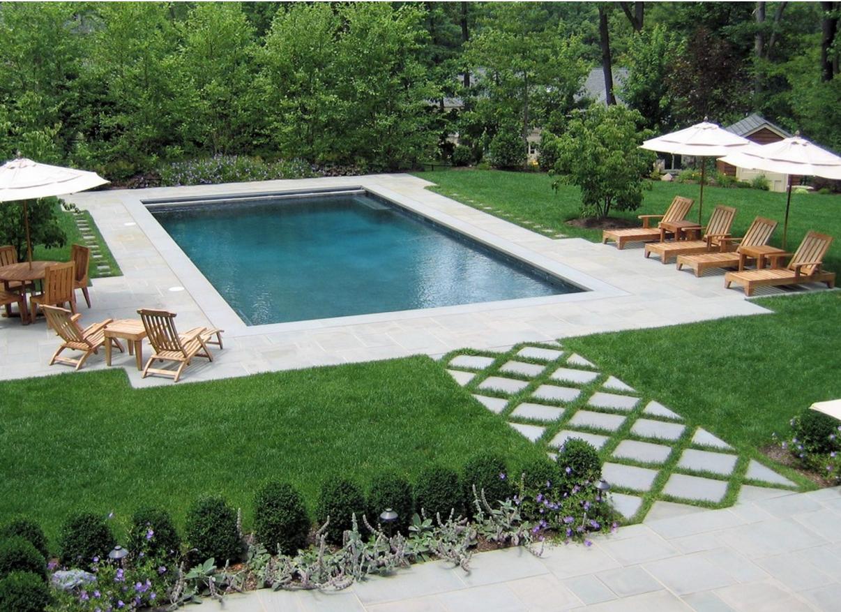 20x40 hydrazzo plaster in french gray interiro pool pinterest