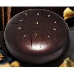 """The post 8 Note 10"""" Steel Tongue Drum – Green appeared first on All Shop At Home."""
