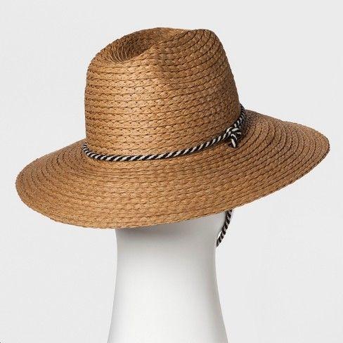 5e2c4399425 Men s Raffia Straw Panama Hats - Goodfellow   Co™ Tan   Target