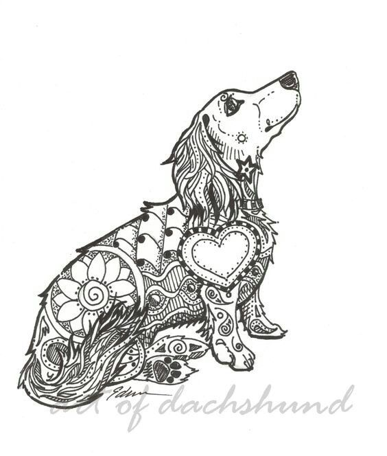 Pin On Dachshund And Other Animal Arts Crafts