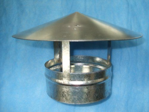 The Galvanized Wind Directional Chimney Cap Is Kept In Proper Position Relative To The Wind By The Wind Vane Sizes 5 Chimney Cap Wind Direction Wind Vane
