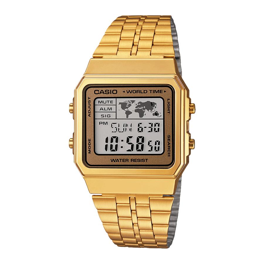 Casio A500WEGA-9EF Collection retro horloge