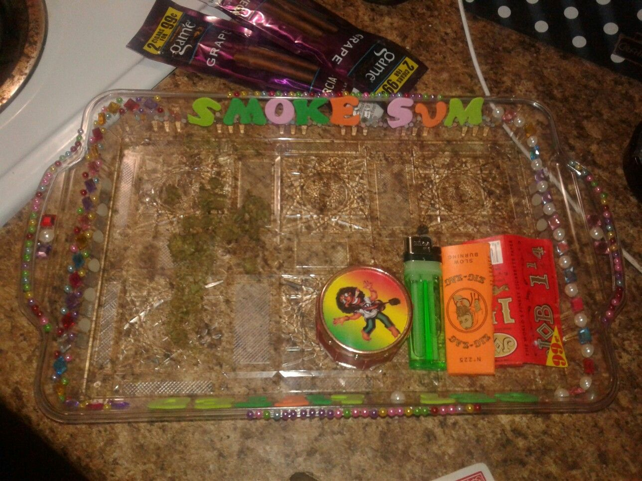 Made my own rolling tray