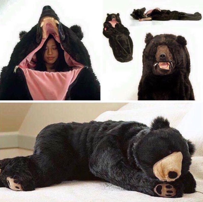 Malcontented In A Nearby Future Dystopia Where We Have To Hide Out Realistic Furry Sleeping Bag Or Costumes Avoid Being Thrown Into Fema Camps