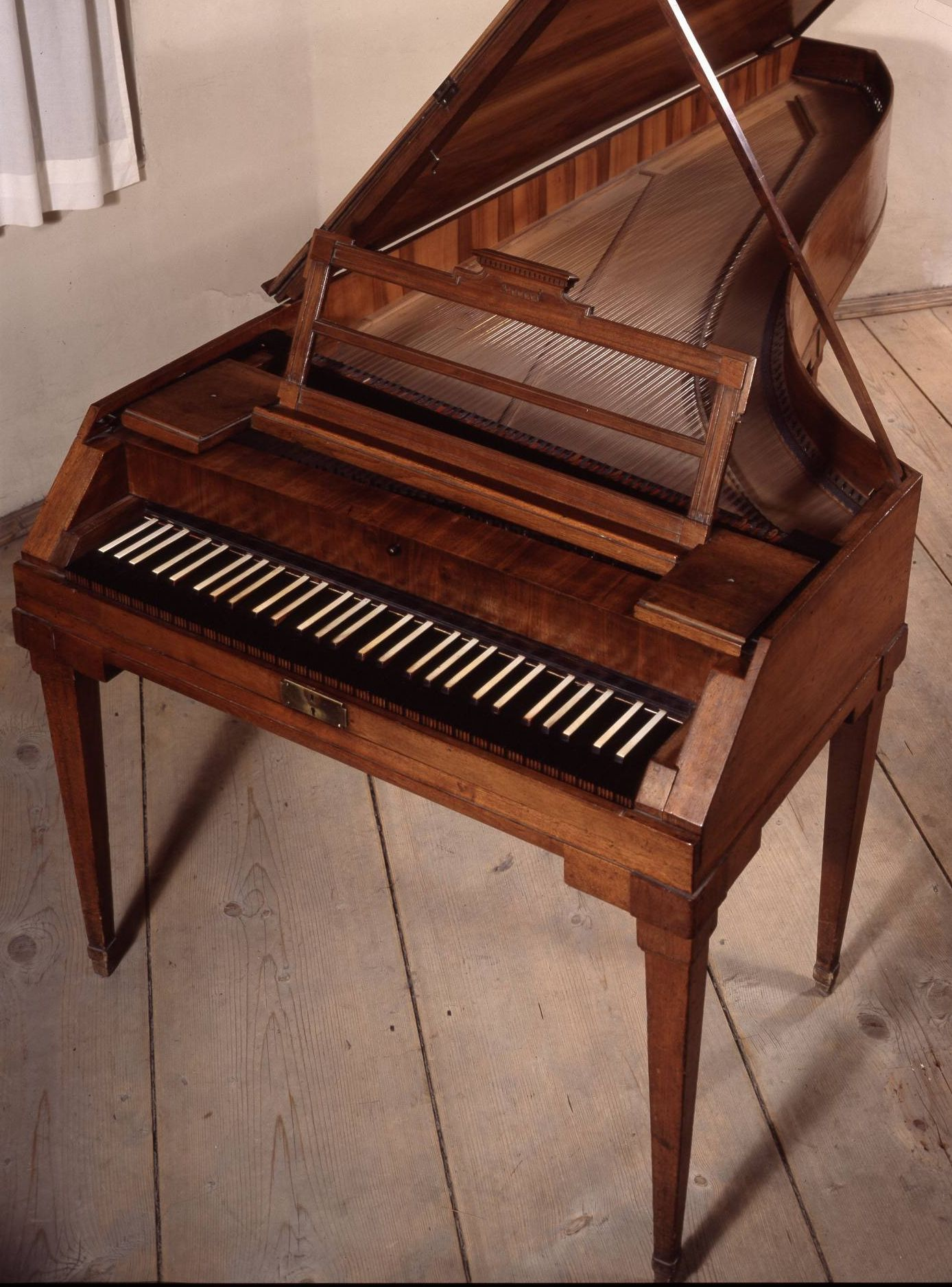 Mozart's original instruments