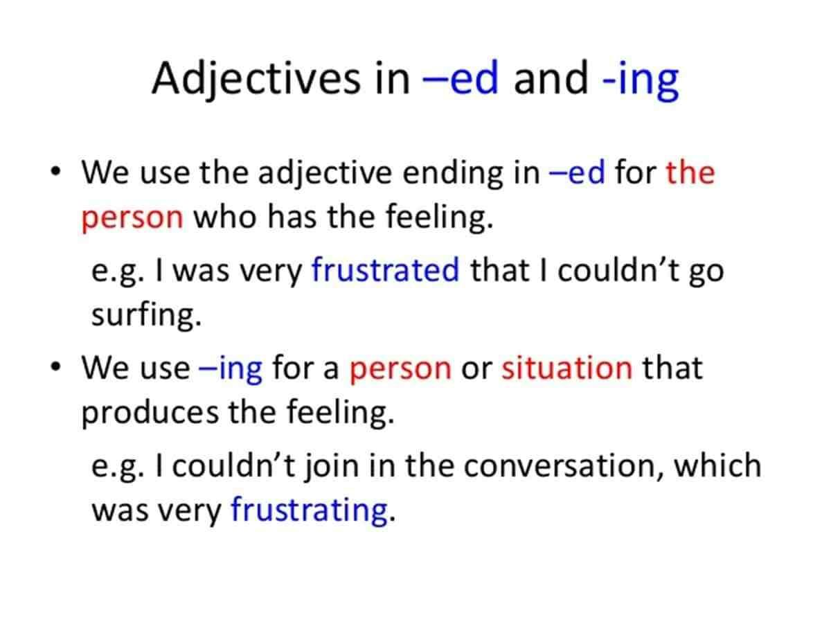 List Of Words Ending In Ing And Ed In English Eslbuzz Learning English English Words Learn English English Adjectives [ 901 x 1200 Pixel ]
