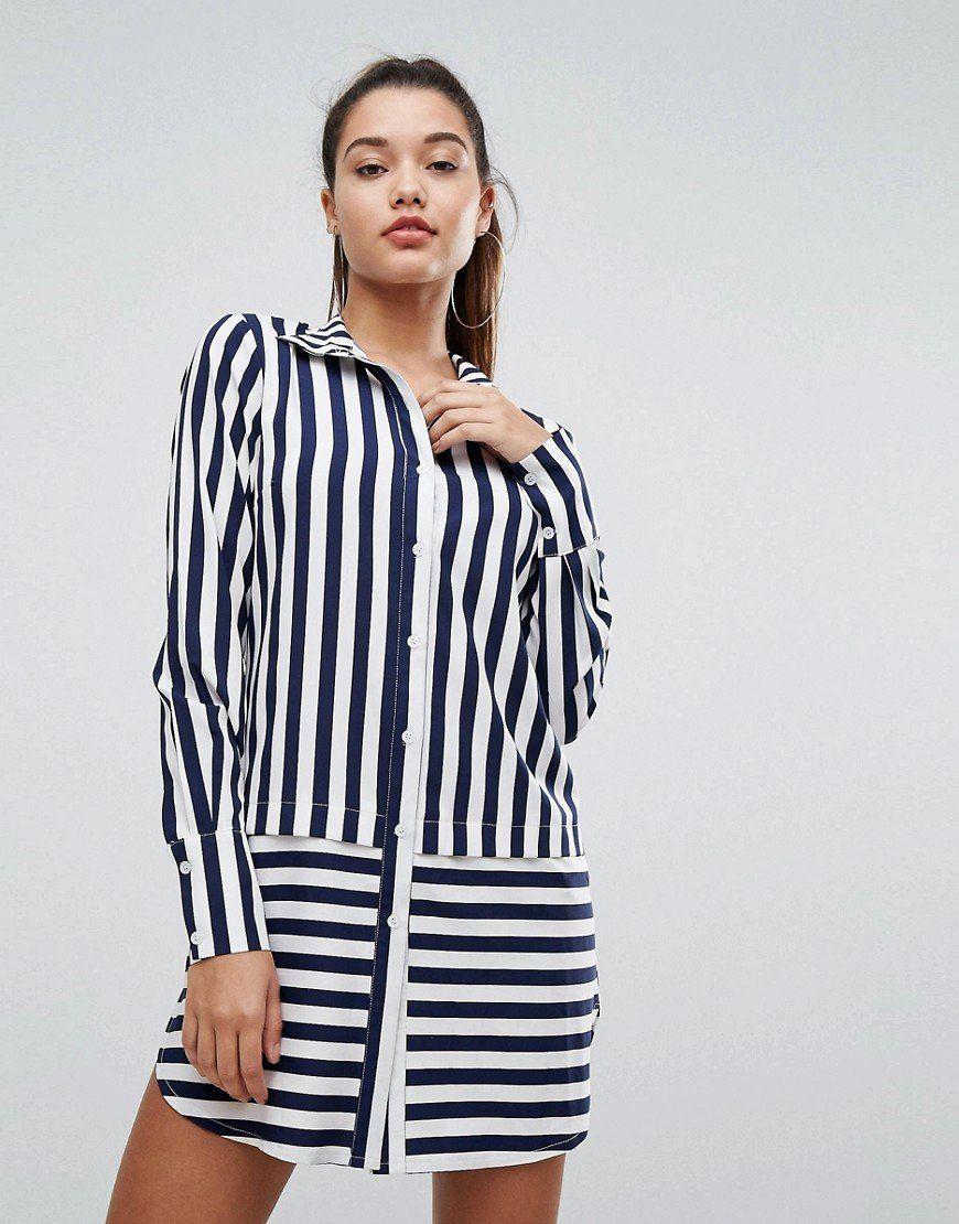 93803b36f9c5 Платье-рубашка - мегатренд 2018   Blouses, tops, shirts, dress ...
