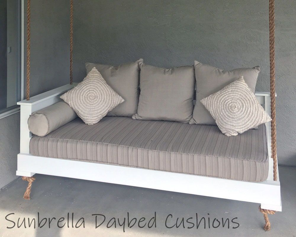 Sunbrella Custom Daybed Cushion Crib Bed Size Porch Patio Etsy Daybed Cushion Crib Mattress Bed Sizes