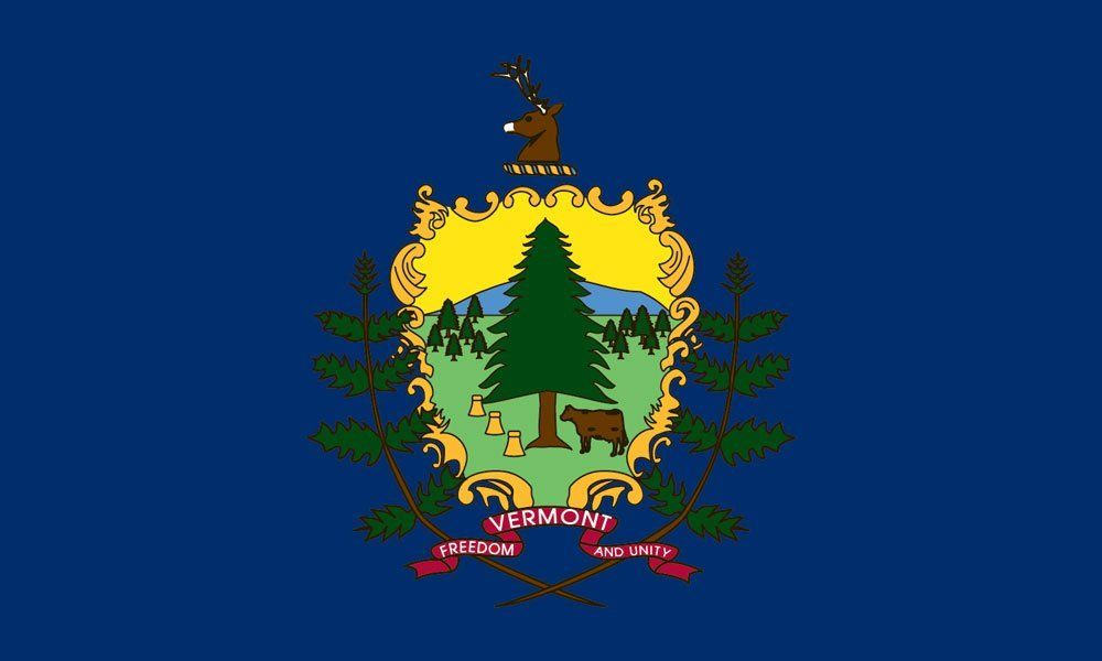 Vermont State Flag Coloring Pages Flag Coloring Pages Flag Vermont