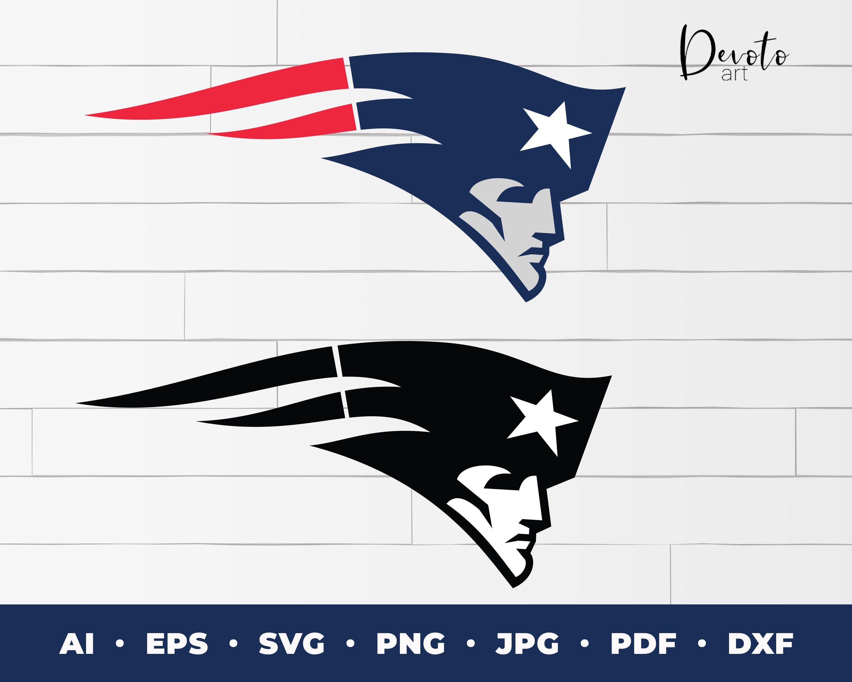 New England Patriots Logo svg 2 pack Patriots cricut svg