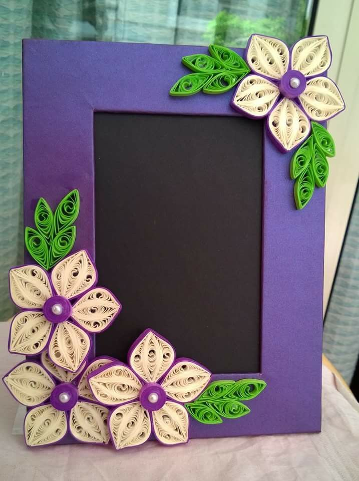 Photo frame  quilling letters paper tutorial designs also frames pinterest filigrana manualidades and rh ar