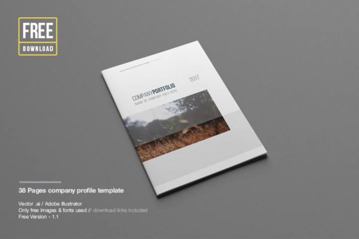 Free Profile Templates Free Company Profile Templatejohan Nayar  Resources  Pinterest .