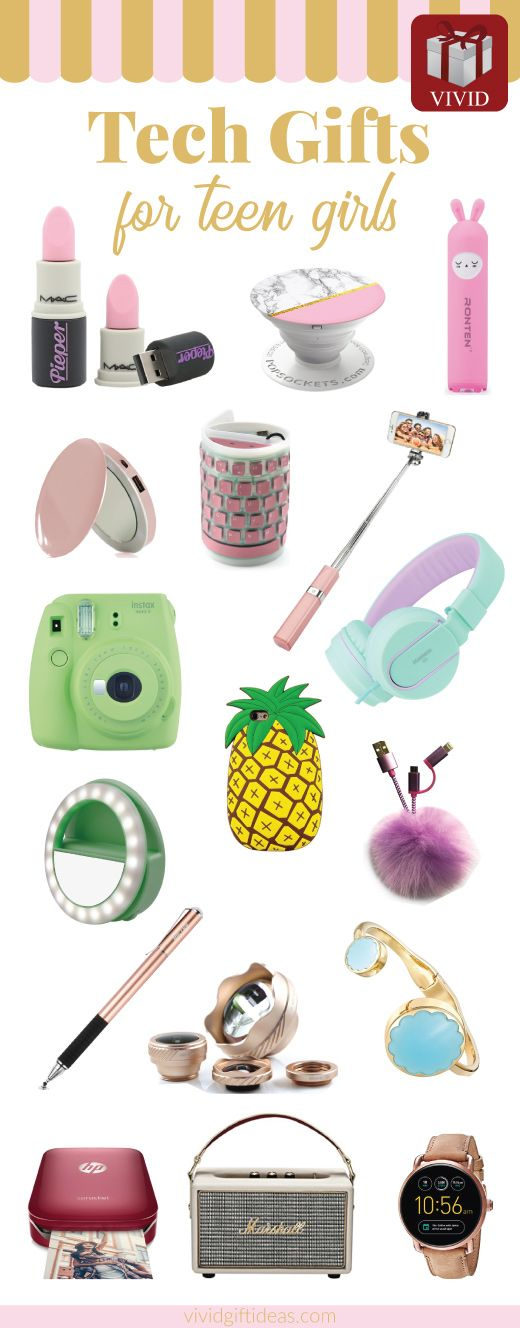 20 best tech gifts for teenage girls tech gifts tech Cool tech gadgets for christmas