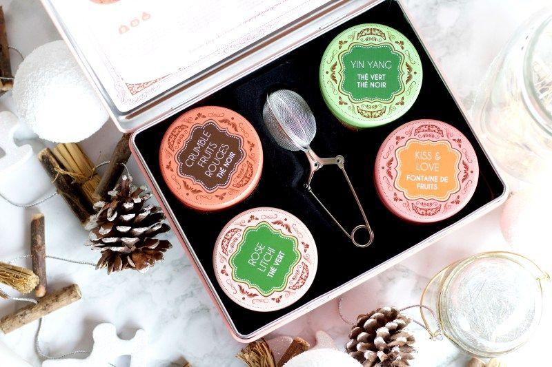 Du thé en coffret pour Noël avec Maison Bourgeon
